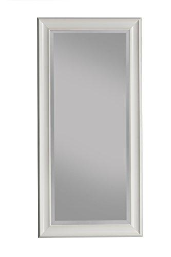 Sandberg Furniture White Wall Mirror, 36' x 30'