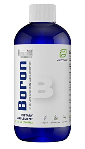 Mineralife Liquid Ionic Boron - Natural Solution for Pain & Inflammation and Enhance Calcium Absorption {8oz, 96 Day Supply}