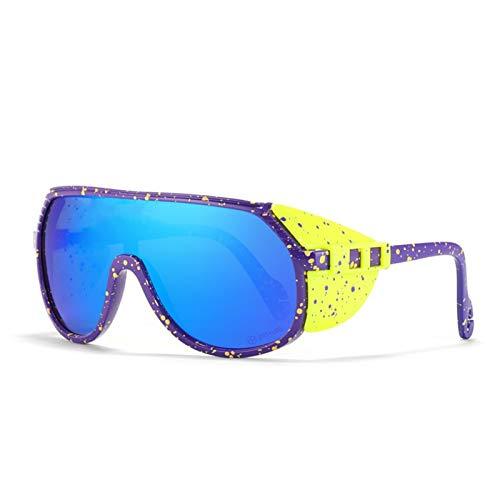 CCCMS Gafas de Sol Deportivas Gafas de Ciclismo polarizadas para Hombres Mujeres Tácticas Gafas Militares para Ciclismo Running Gafas de Sol de Golf