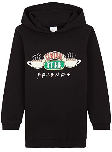 Friends Sudadera Niña, Vestidos Sudadera Algodon 100%, Sudaderas con Capucha, Merchandising Oficial Regalos para Niñas y Adolescentes Edad 7-14 Años (13-14 años)