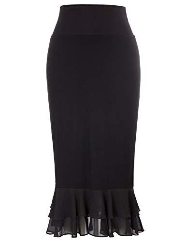 GRACE KARIN Women's Half Slips 1960s Retro Below Knee Length Dress...