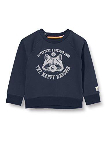 Noppies Baby-Jungen B Sweater LS Vredendal Sweatshirt, Midnight Navy-P228, 86