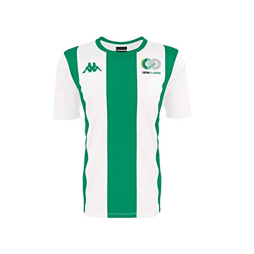 Kappa LOL Camiseta Oficial Cream Real Betis, Unisex Adulto, Verde/Blanco, M