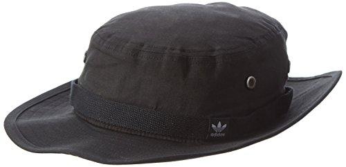 adidas Sombrero Bonnie para Mujer, Color Negro, OSFM