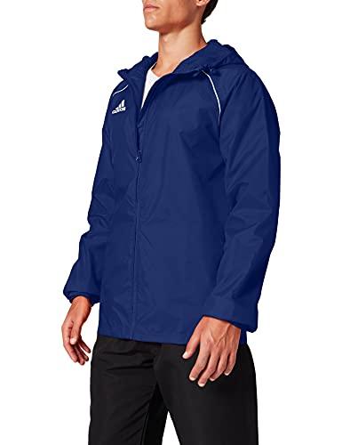 adidas Herren CORE18 RN JKT Sport Jacket, Dark Blue/White, L