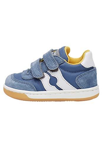 Falcotto ABIR VL-Sneaker in Tessuto Tecnico e Suede-Celeste Blu 21