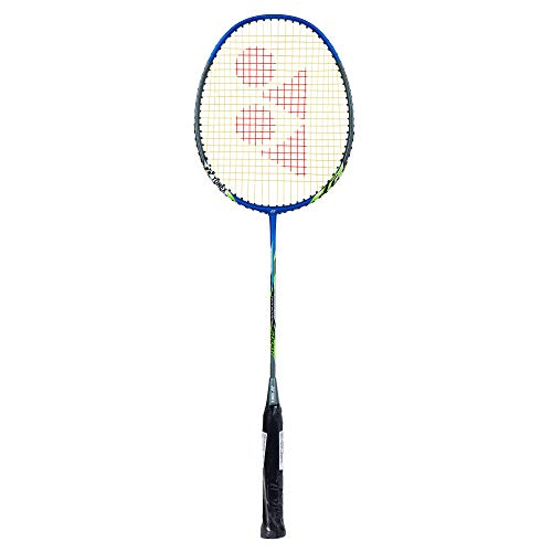 Yonex Nanoray 6000i Aluminum-Alloy Strung Badminton Racquet (Blue) with Full Cover