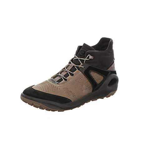 ECCO Herren Biom 2GO Hohe Sneaker, Braun (Black/Dark Clay 56695), 46 EU