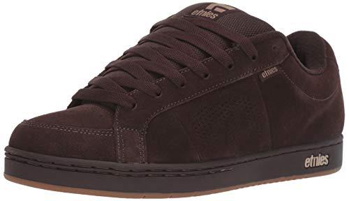 Etnies Men's Kingpin Skate Shoe, Brown/Black/tan, 10.5 Medium US
