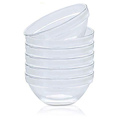 Mini Glass Pinch Prep Bowls Set of 4