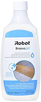 iRobot Authentic Replacement Parts Jet Hard Floor Cleaning Solution Compatible with All Braava Robot Mop Accessory Clear
