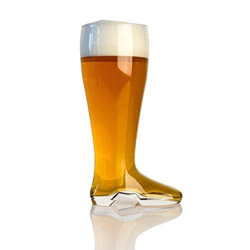 Domestic Corner - Das Boot - 2 Liter Large Beer Boot Oktoberfest Drinking Mug - Holds Over 5 Beers