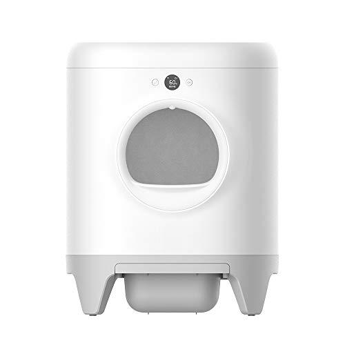PETKIT Pura X Caja de Arena Intelligent autolimpiable, XSecure Eliminación de olores Control de App, Caja de Arena automática Buena para Varios Gatos