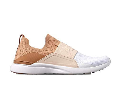 ATHLETIC PROPULSION LABS APL Women's Techloom Bliss, (Caramel/Warm Silk/White, Numeric_9_Point_5)