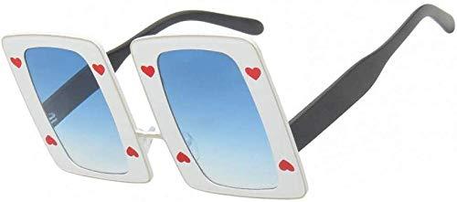 ZYIZEE Gafas de Sol Gafas de Sol cuadradas de Lujo para Mujer Gafas de Sol de Gran tamaño para Mujer Gafas de Sol Negras con Montura Grande para Mujer Uv400-C05