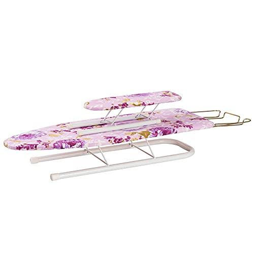 BGROESTWB Tabla de Planchar Tabla de Planchado Tablero Plancha Acolchada Plancha para Planchar Casa (Color : Pink, Size : One Size)