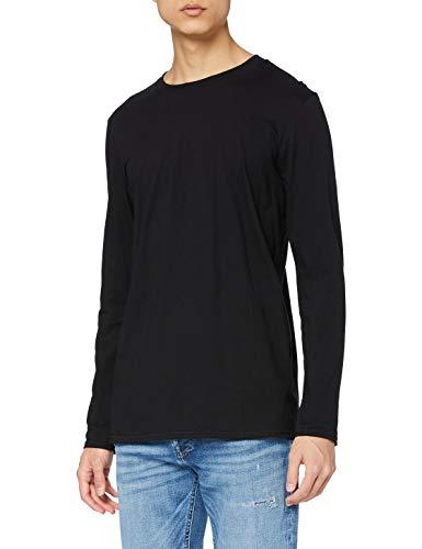 Gildan Soft Style L, Camiseta para Hombre, Negro (Black), Large