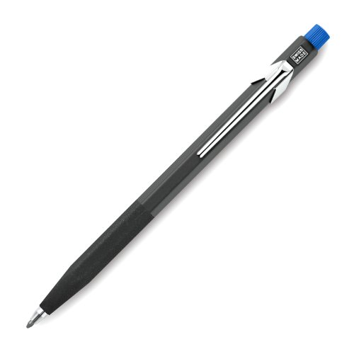 Caran d'Ache 3.289 Fixpencil, 3 mm Pencil, Blue Cap, Rough Grip