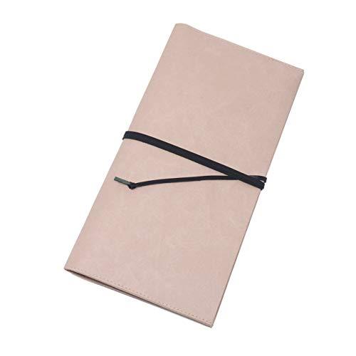 [シワ] パスポートケース 紙和 (ダークピンク)