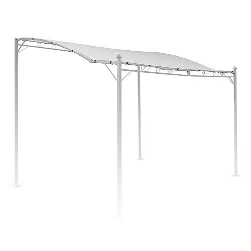 blumfeldt Allure Roof Beige Ersatzdach - Pergola-Bespannung, Terrasen-Vordach, 3 x 2.5 m, 180 g/m² Polyester, witterungsbeständig, Sonnenschutz, für Allure Pergola Vordach, beige