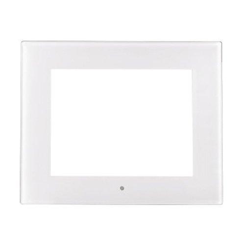 Hama Rahmenblende für 26,4 cm (10,4 Zoll) Digitale Bilderrahmen, Acryl-Weiß