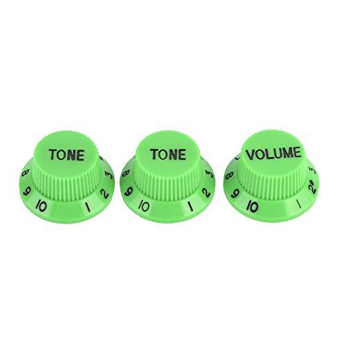 Accesorio de guitarra eléctrica Perillas de control de volumen de guitarra para...