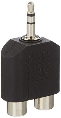 InLine 99302 Audio Adapter, 3,5mm Klinke Stecker an 2x Cinch Buchse, Stereo