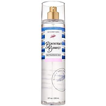 Bath and Body Works BEACHFRONT BLANKET Fine Fragrance Mist 8 Fluid Ounce  2020 Limited Edition
