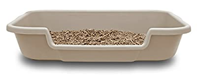 """PuppyGoHere Dog Litter Box. Large pan is 24""""x20""""x5"""" Beach Sand Color for Dogs up to 20 lbs Review Space Available Prior to Ordering. See Dimension Photo! Training is Required"""