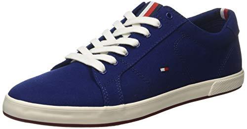 Tommy Hilfiger Iconic Long Lace Sneaker, Zapatillas Hombre, Azul (Blue Ink C7h), 43 EU