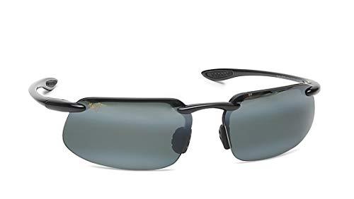Maui Jim Kanaha Gloss Black/Neutral Grey Sunglasses (MJ-Kanaha-409-02-62)