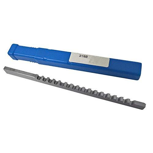 JAP768 3/16 B Push-TypeKeyway Broach Zoll Größe mit Shim Räummesser Schneidwerkzeuge for CNC-Maschine