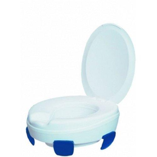 Toilettensitzerhöhung CLIPPER mit Deckel 10cm(Ato Form), Toilettenhilfen