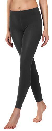 Merry Style Damen Thermo Leggings mit Innenfleece 24550 Extra Warm (Anthrazit, 40/42)