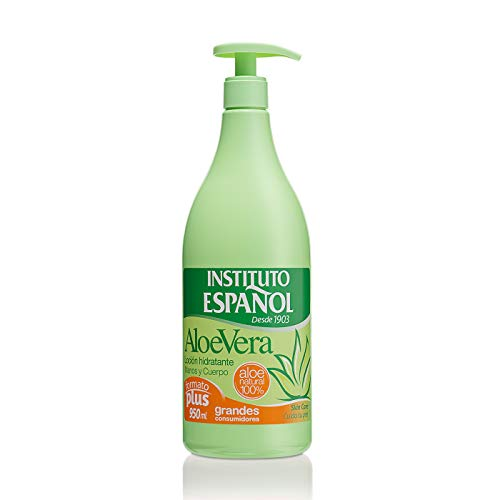 INSTITUTO ESPAÑOL loción hidratante aloe vera dosificador 950 ml