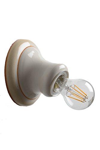VANNI LAMPADARI - Lampada Da Parete art. 001/354 In Ceramica Decorata A Mano Disponibile In 5 Finiture