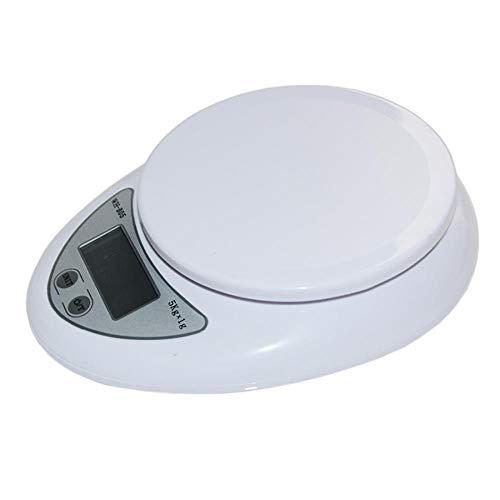 Digitale weegschaal Keuken 5kg 5000g / 1g Voedingsdieet Postweegschaal Elektronische weegschalen Balanceerweger LED elektronisch