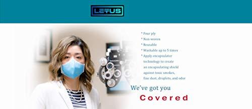 Letus Survival Mask - Reusable Washable Face Mask - 50 Pack