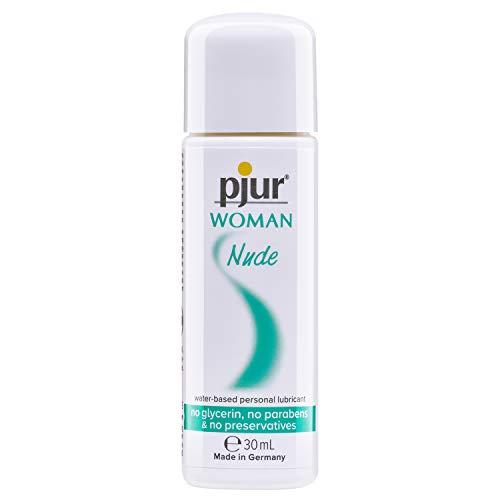 pjur WOMAN Nude - Natürliches Gleitgel auf Wasserbasis - frei von Konservierungsstoffen & Parabenen - speziell für Frauen (30ml)