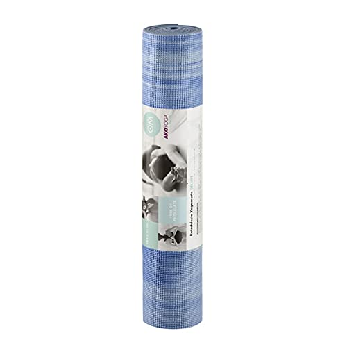 Yoga Mat Arcobaleno, Blu/Bianco