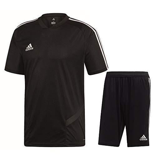 adidas Tiro 19 Trainingsset Herren schwarz weiß Gr XL