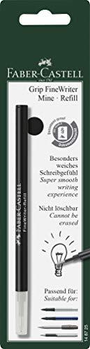 Faber-Castell 148725 - Refill Grip Finewriter, Schwarz