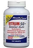 Mason Natural, Vitrum 50 Plus Senior Multi Compare to Centrum Silver Tablets - 180 Ea