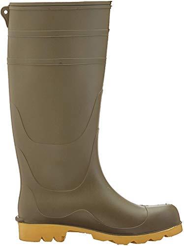 Dunlop - Botas de Agua Estilo Wellington de PVC Modelo Universal para Hombre (42 EU/Negro)