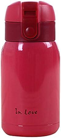 200ml Rosado Mini Botella de termo de Acero inoxidable en froma de vientre grande R TOOGOO