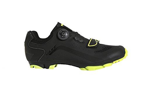 Massi MTB KENTO T.44, Zapatillas de Ciclismo de montaña Unisex Adulto, Amarillo (Neon Neon), 44 EU