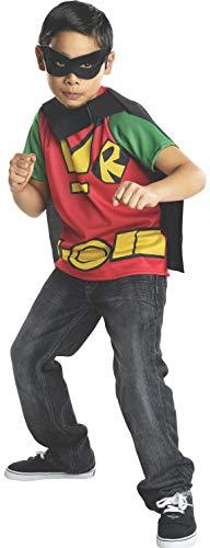 Kit disfraz de Robin Teen Titans Go para niño