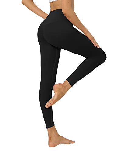 High Waisted Workout Yoga Pants Athletic Running Tummy Control...