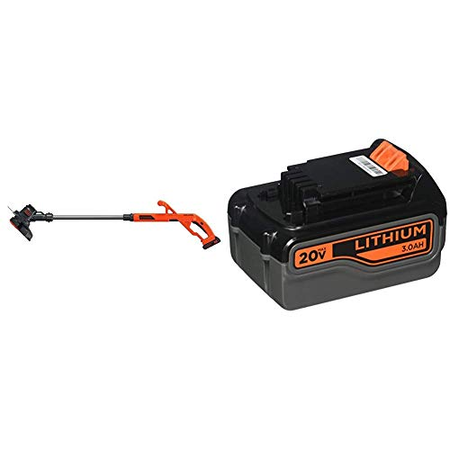 Buy Bargain BLACK+DECKER 20V MAX String Trimmer/Edger Kit with Extra Lithium Battery 3.0 Amp Hour (L...