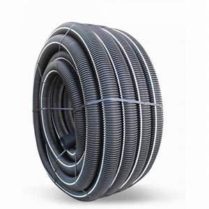 Tubo corrugado de doble pared de 40 mm de diámetro, 50 m,...